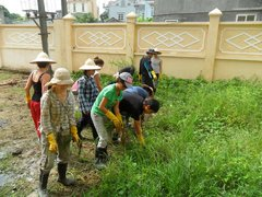 Vietnam project volunteers