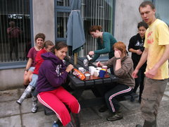 Coffee Break at Glebe House Project 2012