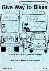 1979 Give Way To Bikes, report on cycling in Dublin