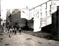 1971 Benburb St area to be turned into playground