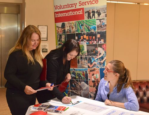 Cati Ana VSI Volunteering Fair