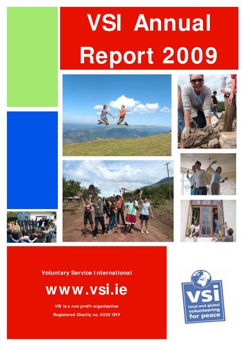 Publication cover - Annual Report 2009
